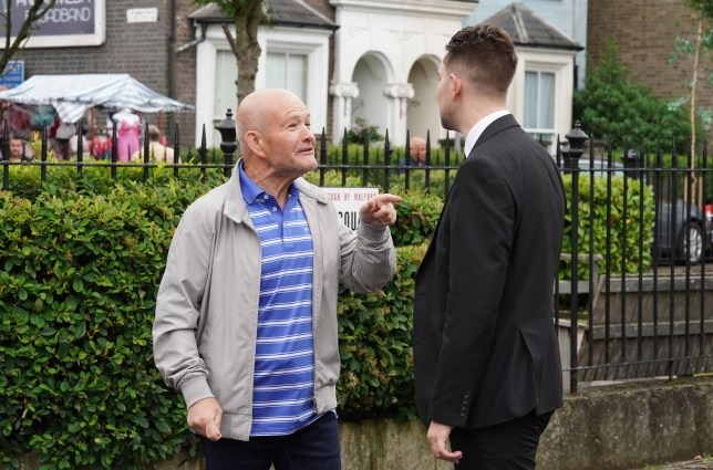Jonno and Callum in EastEnders