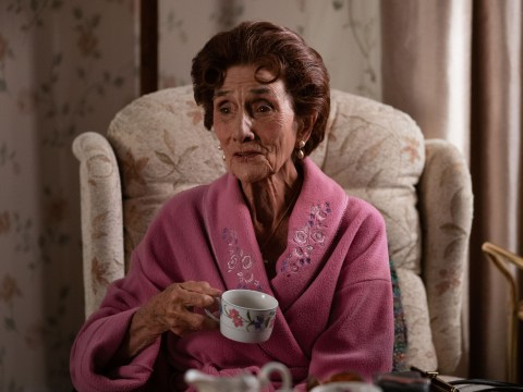 EastEnders icon June Brown reveals she can't watch the soap due to eyesight