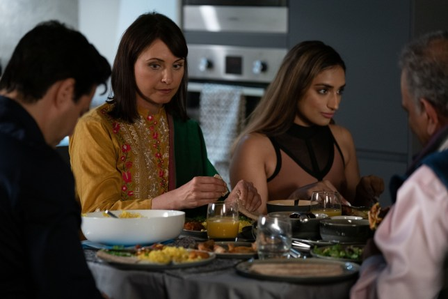 There is awkwardness for Habiba and Honey in EastEnders