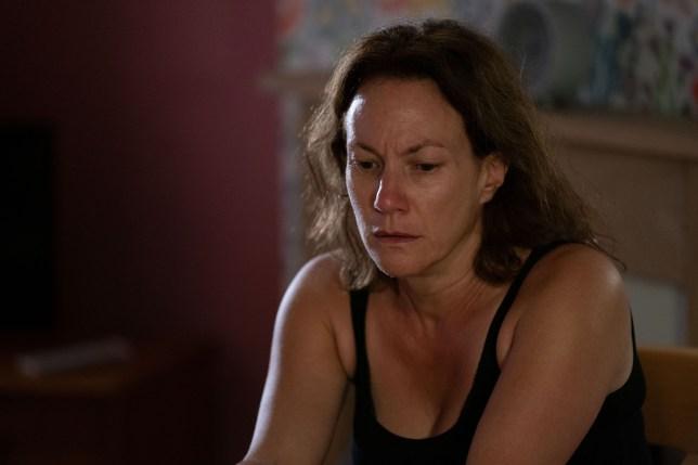 Tanya Franks as Rainie Branning in EastEnders