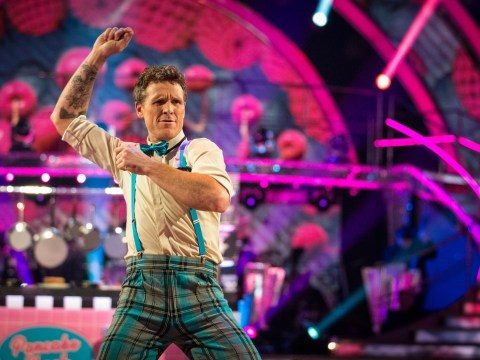 What was James Cracknell's accident in 2010 as the Olympic rower gets eliminated from Strictly?