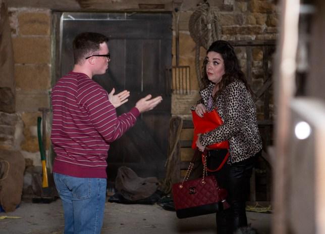 Mandy and Vinny in Emmerdale