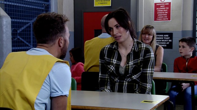 Julia Goulding as Coronation Street's Shona