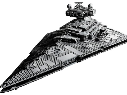 Lego Star Wars Star Destroyer is the longest Lego set ever at 1.1 metres (and £650)
