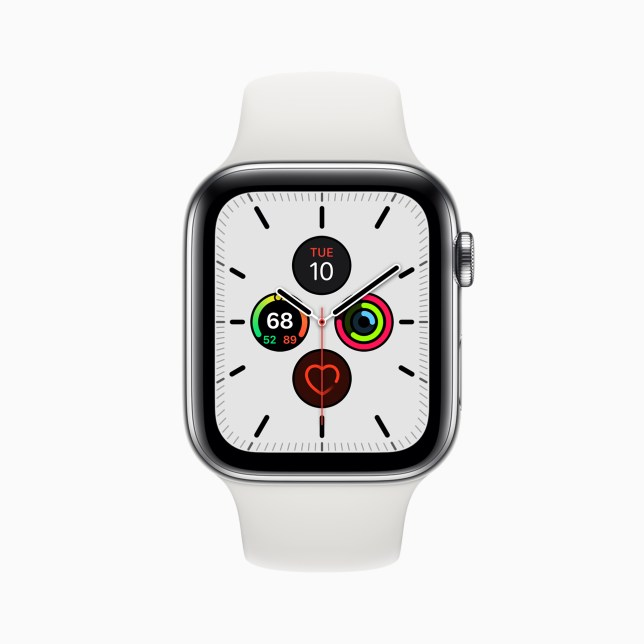 The Apple Watch Series 5 starts at £399 (Apple)