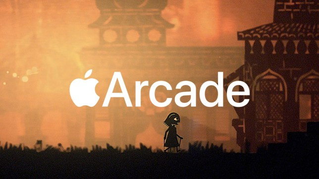 A silhouette of a new apple game from Apple Arcade