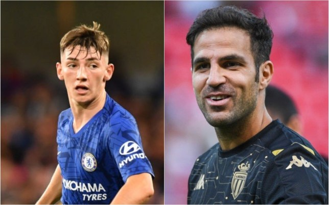 Cesc Fabregas says Billy Gilmour has the right attitude to be a success at Chelsea