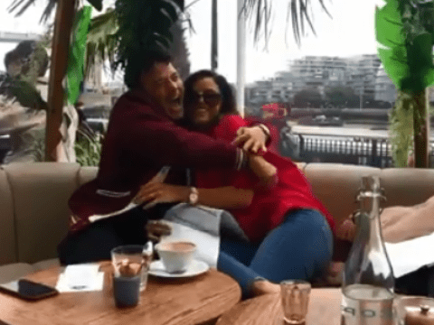Ryan Thomas in absolute pieces over Lucy Mecklenburgh's adorable baby gender reveal
