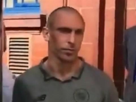 Rangers fan taunts Celtic captain Scott Brown about his sister's death