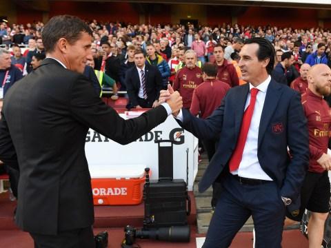 Arsenal boss Unai Emery reveals he was with Javi Gracia when Watford sacked him