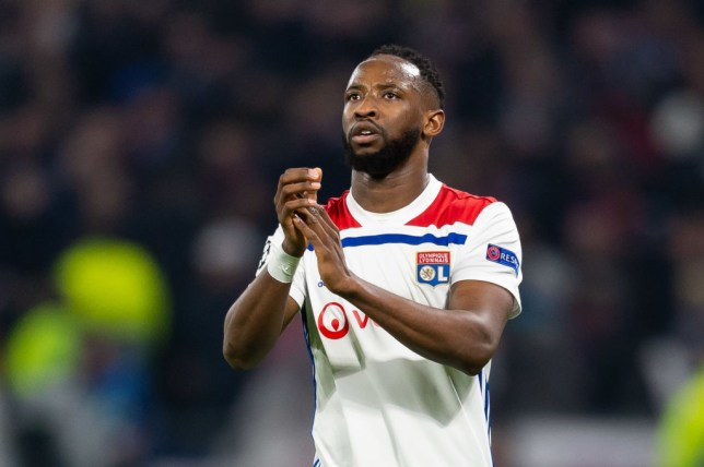 LYON, FRANCE - FEBRUARY 19: Moussa Dembele of Olympique Lyon looks on during the UEFA Champions League Round of 16 First Leg match between Olympique Lyonnais and FC Barcelona at Groupama Stadium on February 19, 2019 in Lyon, France. (Photo by TF-Images/TF-Images via Getty Images)