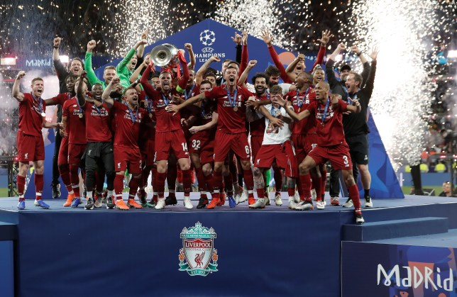 Liverpool won the Champions League after beating Tottenham in the final