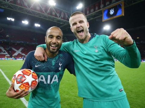 Man Utd plotting bids for Tottenham pair Lucas Moura and Eric Dier