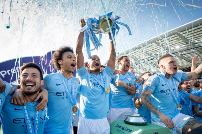 Chris Sutton has backed Man City to beat Liverpool, Arsenal, Man Utd, Tottenham and Chelsea to the Premier League title