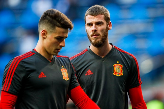 Kepa Arrizabalaga has started Spain's last four matches including last night's win over Romania