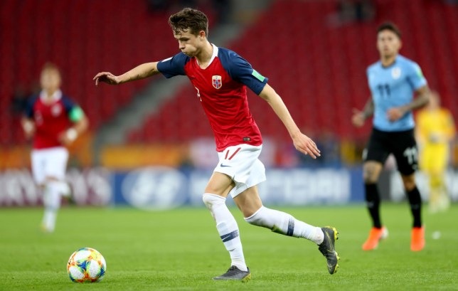 Hakon Evjen played at the FIFA U-20 World Cup with Norway