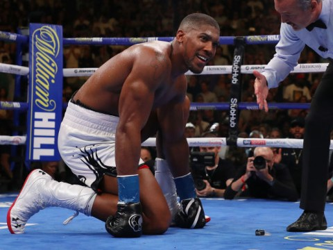 Team GB doctor urges Anthony Joshua to use special mouthguard to monitor concussion