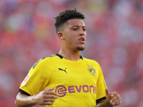 Jadon Sancho told to pick Liverpool over Manchester United by Peter Crouch