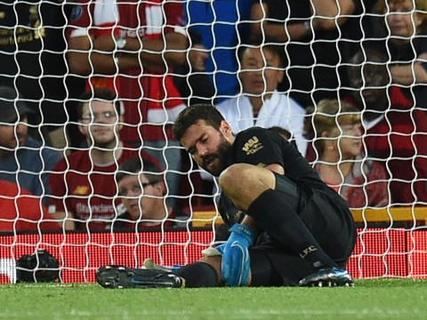 Alisson Becker sends message to Adrian as Liverpool goalkeeper closes in on first team return