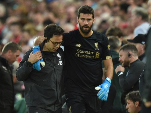 Liverpool goalkeeping coach provides Alisson injury update ahead of Newcastle clash