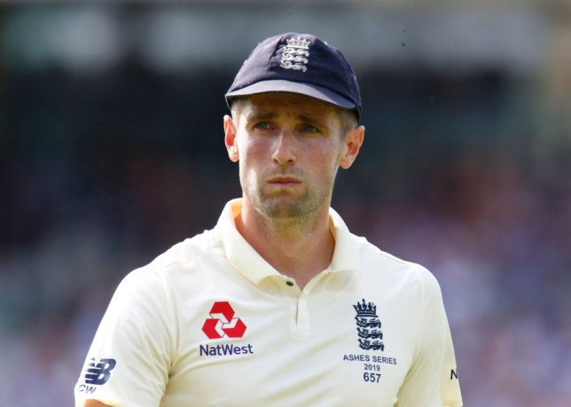 England bowler Chris Woakes was dropped for the fourth Ashes Test
