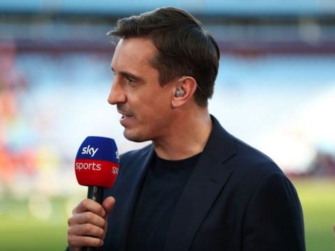 Gary Neville names Fabinho as the Premier League's best defensive midfielder