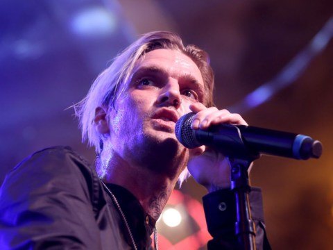 Aaron Carter buys gun, assault rifle and ammo after inheriting his late father's weapon collection