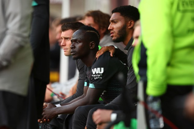 Sadio Mane was furious with Mohamed Salah's greediness in Liverpool's victory over Burnley