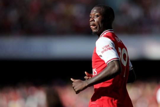 Nicolas Pepe lit up Ligue 1 last season at Lille