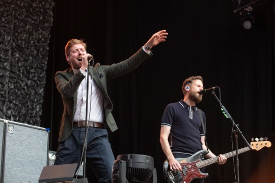 Kaiser Chiefs Open For The Who At Wembley Stadium