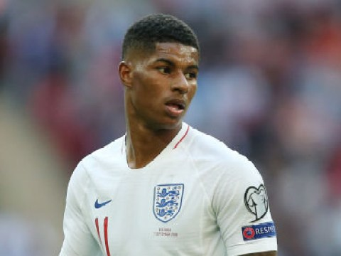 Gareth Southgate casts doubt over Marcus Rashford's ability to play as a No.9 for England