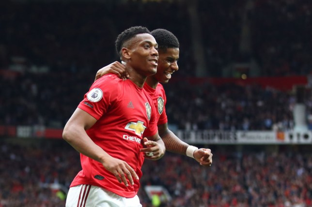 Anthony Martial and Marcus Rashford will spearhead Man Utd's attack this season