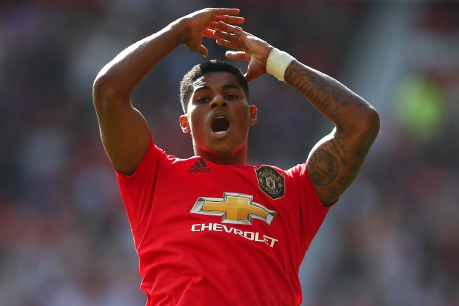 Marcus Rashford has been struggling to hit top gear for Manchester United this season