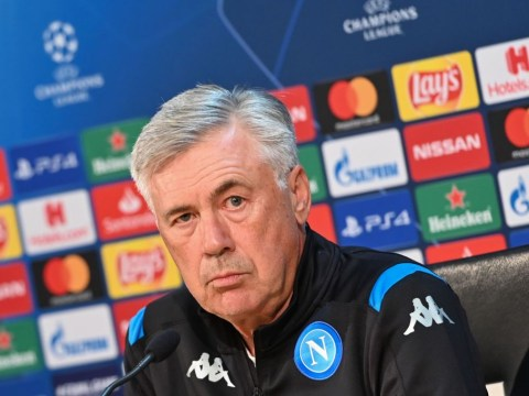 Carlo Ancelotti says Napoli need the 'perfect game' to beat Liverpool in the Champions League