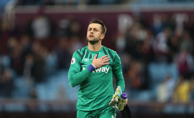 West Ham could be without Lukasz Fabianski for over three months(Picture: Getty)