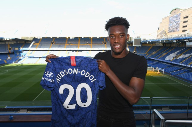 Callum Hudson-Odoi sums up the biggest difference between Maurizio Sarri & Frank Lampard's Chelsea