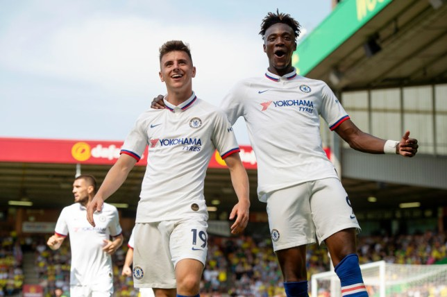 Mason Mount and Tammy Abraham have scored ten league goals between them ahead of Chelsea's clash with Liverpool