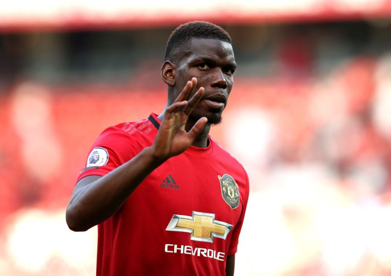Pogba has managed just six appearances this term