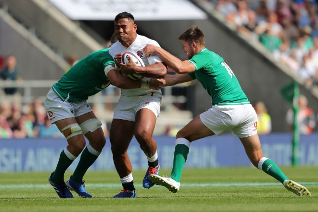 Manu Tuilagi will be one of England's most potent attackers at the Rugby World Cup