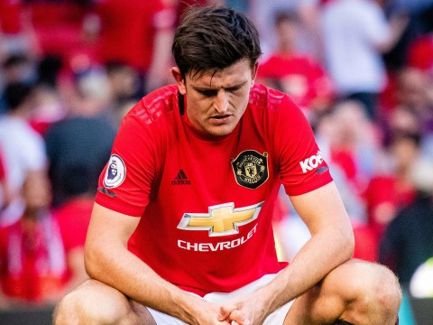 Harry Maguire has been 'average' for Manchester United this season, claims Tim Sherwood