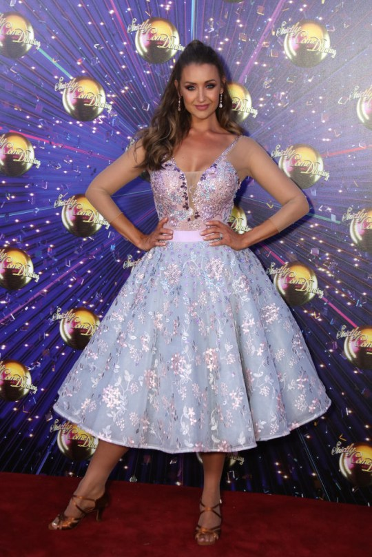 Catherine Tyldsley at Strictly launch