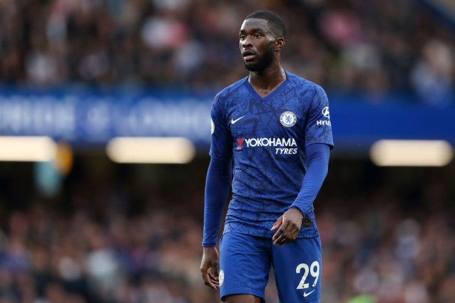 Fikayo Tomori watches on during Chelsea's defeat to Liverpool