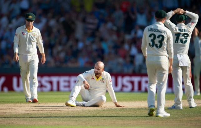Nathan Lyon was the victim of a costly blunder during the third Ashes Test