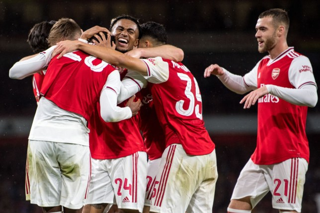 Arsenal smashed Nottingham Forest 5-0 in the Carabao Cup