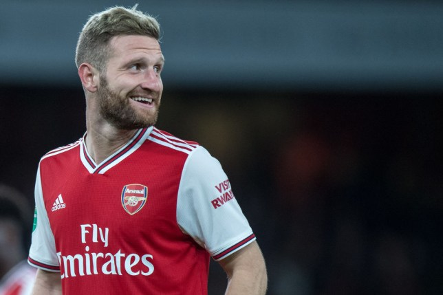 Shkodran Mustafi has helped Arsenal keep clean sheets in his last two matches