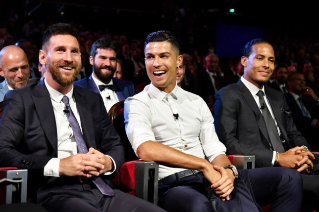 Cristiano Ronaldo and Lionel Messi are in contention to win this year's Ballon d'Or