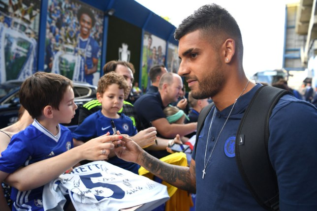 Chelsea star Emerson speaks out after injury scare playing for Italy