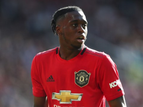 Aaron Wan-Bissaka misses Manchester United's clash with Arsenal