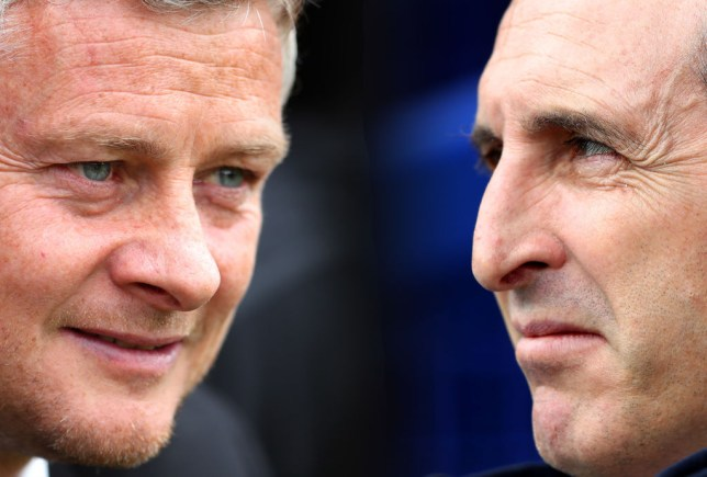 Ole Gunnar Solskjaer and Unai Emery have little rivalry to speak of