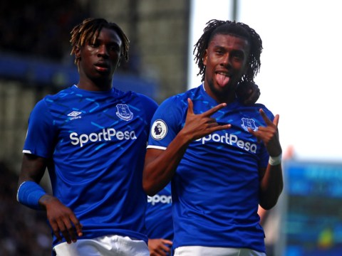 Alex Iwobi's Everton team-mates are laughing at him for his heading since Arsenal switch